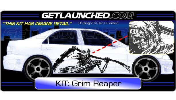Grim Reaper Decals