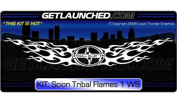 beautiful tribal flames designs