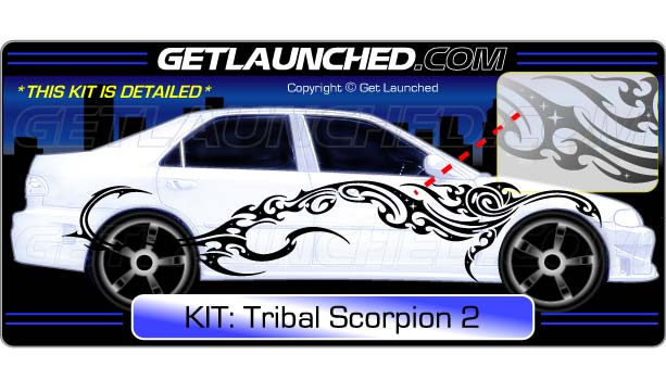 Scorpion Tribal 2