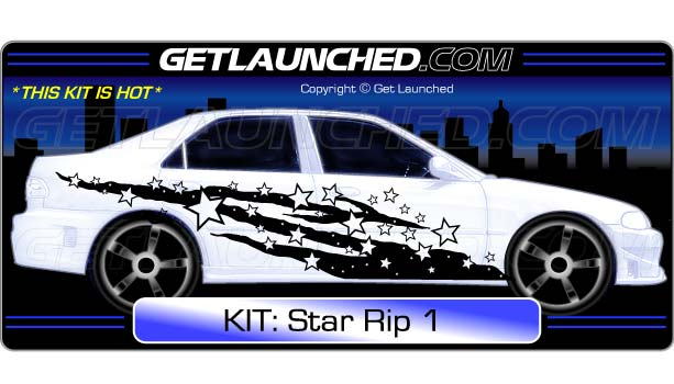 Star Car Decals RIP 1