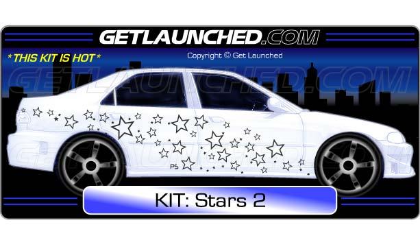 Stars car graphics 2