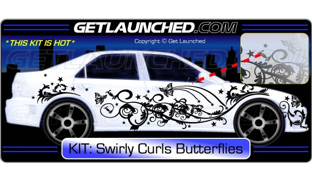 Graphics For Butterfly Car Decals Graphics Www