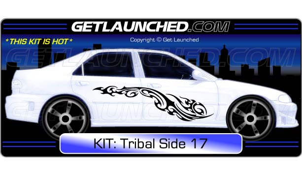 Tribal Car Decals 17