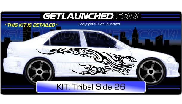69 99 tribal car decals 26