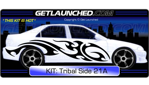Tribal Car Decals 21A