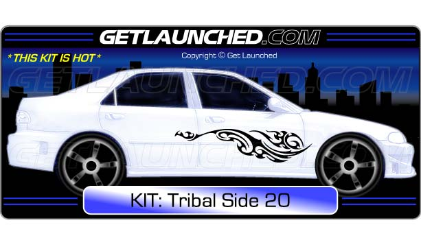 Tribal Car Decals 20