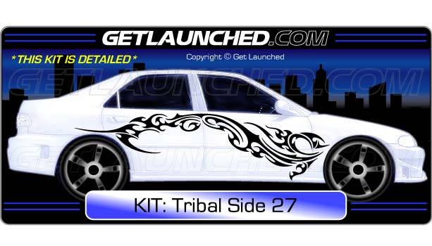 Tribal Car Graphics 27