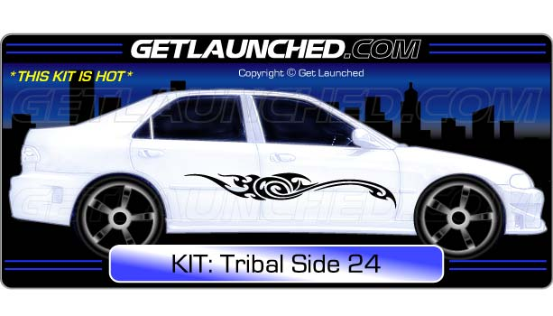 Tribal Car Decals 24