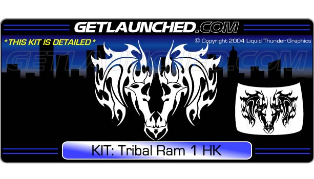 Tribal Ram Hood Graphic 1