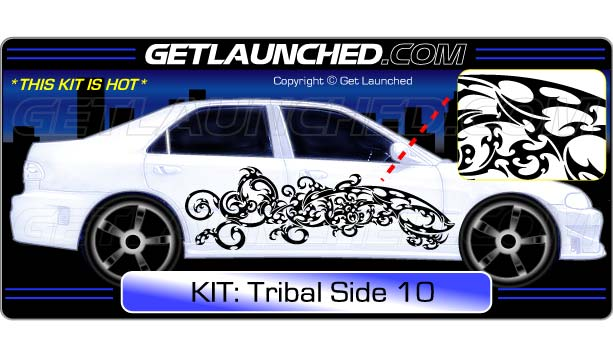 Tribal Car Decals 10