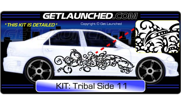 Tribal Car Graphics 11