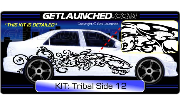 Tribal Car Decals 12