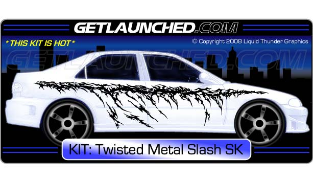 Twisted Metal Slash Decals
