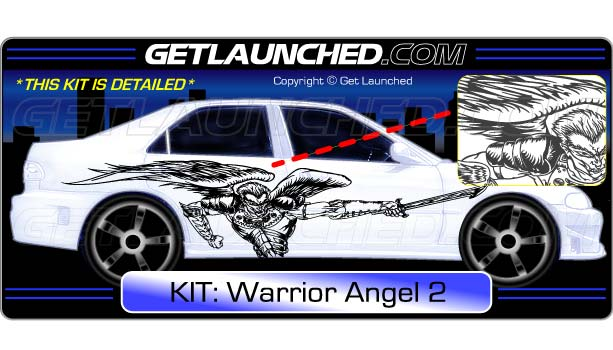Warrior Angel Decals2