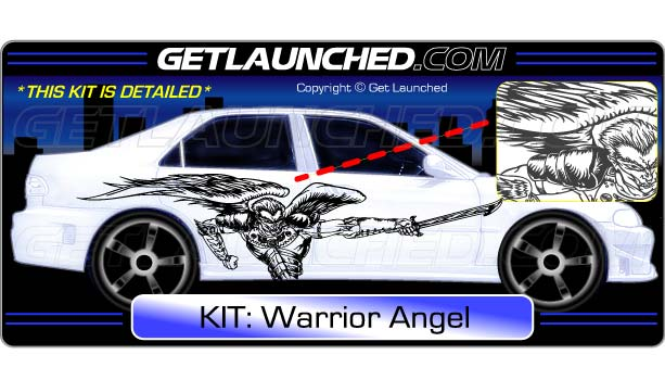 Warrior Angel Decals