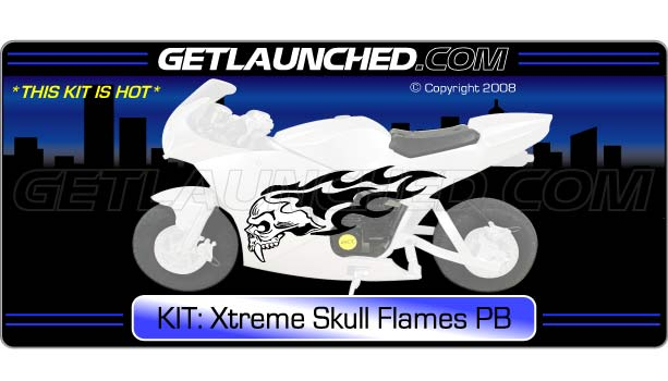 Xtreme Skull Flames